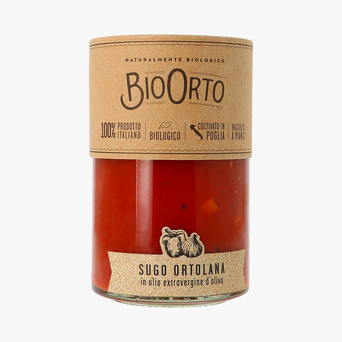 Sauce tomate à l'Ortolana biologique Bio Orto