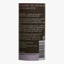 Red wine vinegar with shallots A l'Olivier