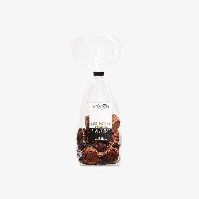 Petits fours au chocolat et aux poires La Grande Épicerie de Paris
