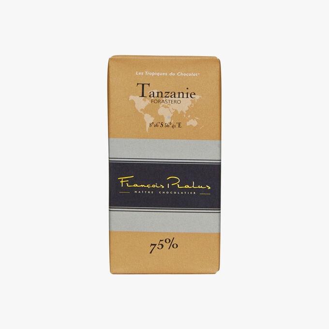 Tablette Chocolat Tanzanie 75% Pralus
