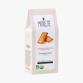 Organic mix for financiers Marlette