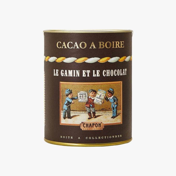 Drinking chocolate - Le gamin et le chocolat Chapon