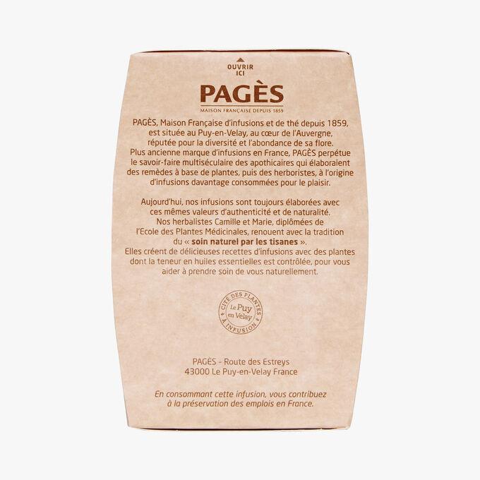 Organic infusion detox drainage Pagès