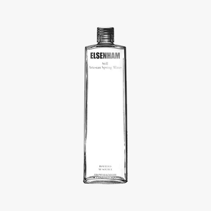 Elsenham, eau de source plate Elsenham