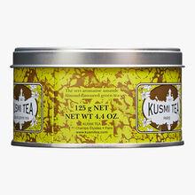 Almond Green Tea, metal tin Kusmi Tea