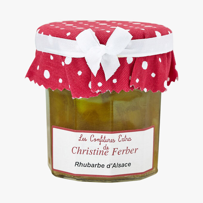 Préparation de fruits Rhubarbe d'Alsace Christine Ferber