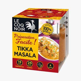 Préparation facile Tikka Masala Le Coq Noir
