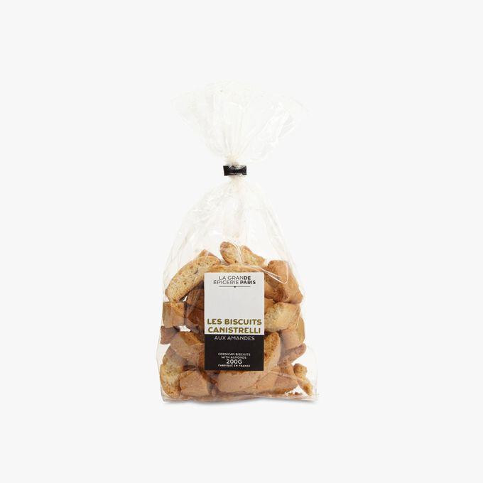 Corsican canistrelli biscuits with almonds La Grande Épicerie de Paris