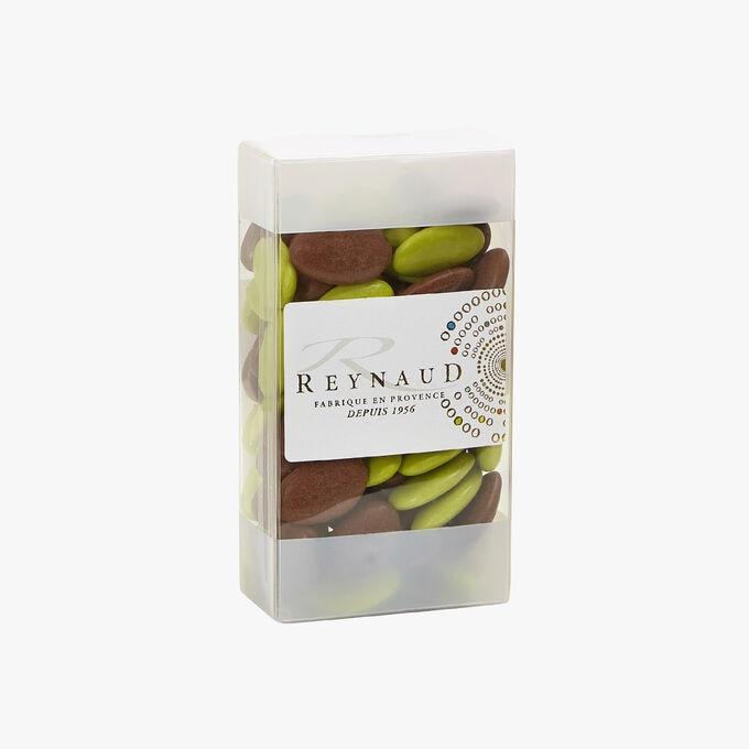 Dragées Chocolat Cacao 70 % - Pomme - Moka Reynaud