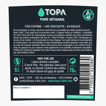 Poiré artisanal Topa