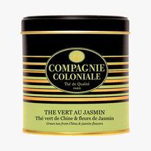 Thé vert au jasmin - Thé vert de Chine & fleurs de jasmin Compagnie Coloniale