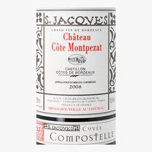 Château Côte Montpezat, PDO Côtes de Bordeaux Castillon, Compostelle, 2008 Château Côte Montpezat