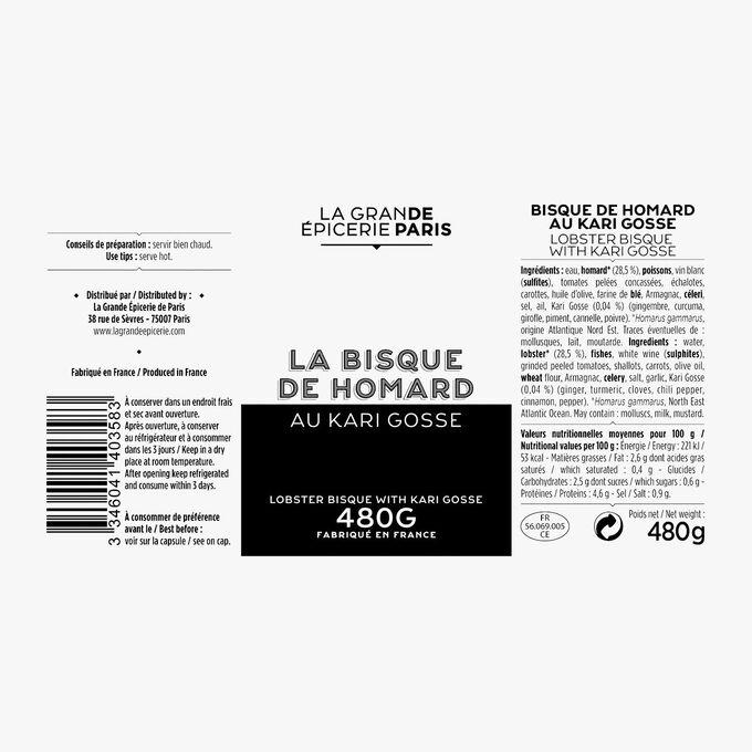 Kari Gosse lobster bisque La Grande Épicerie de Paris