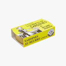Sardines au beurre bordier La Quiberonnaise