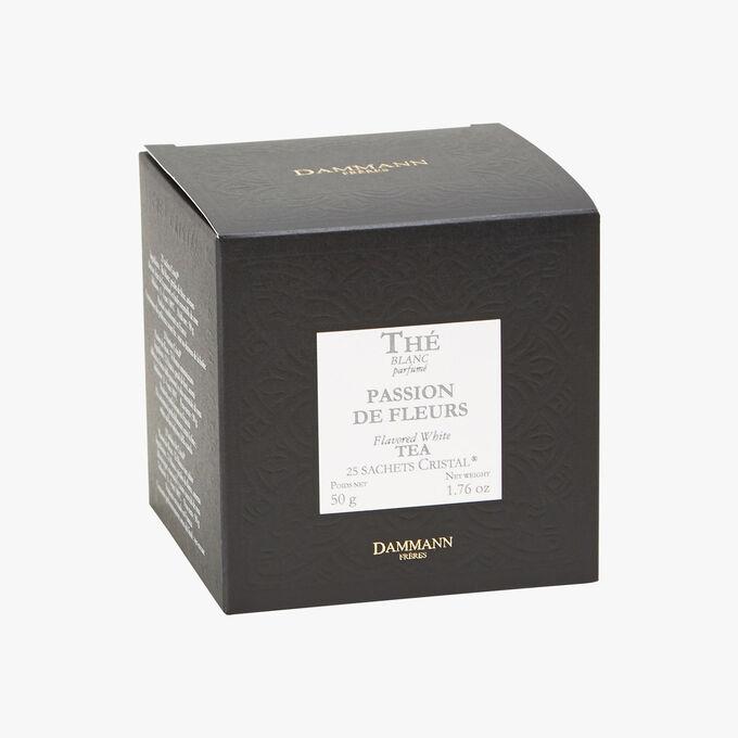 Thé blanc parfumé Passion de fleurs - Boîte de 25 sachets Dammann Frères