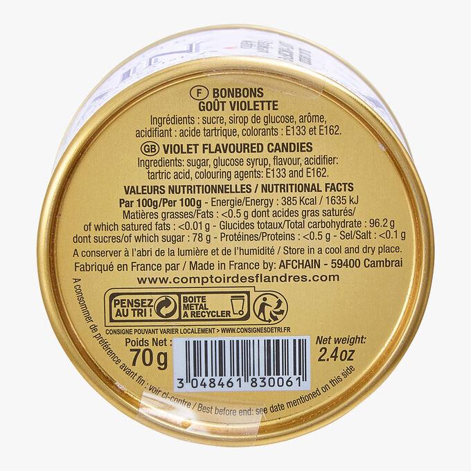 Les Bêtises de Cambrai - goût violette Afchain