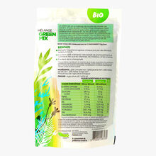Mélange «Green Mix» chlorelle, spiruline, herbe de blé, herbe d'orge en poudre bio Madia bio