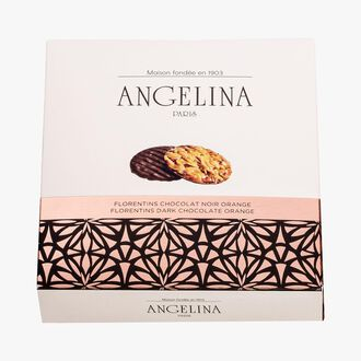 Florentin chocolat noir orange Angelina