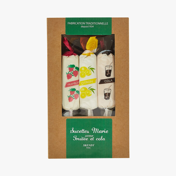 Marie Sucettes - Fruity and cola flavours Skendy