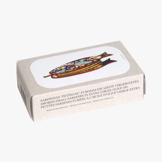 Small smoked sardines in extra virgin olive oil José Gourmet