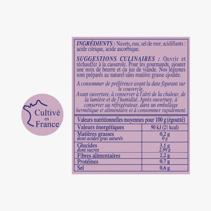 Petits Navets Nouveaux calibrés, du Val de Loire Gillet Contres