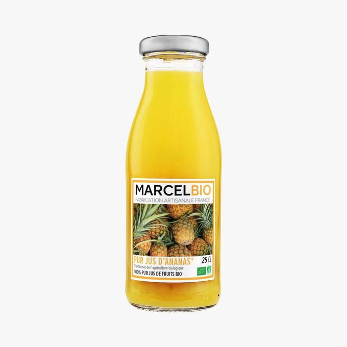 Pur jus d'ananas bio Marcel Bio