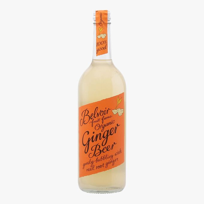 Organic ginger fizzy drink Belvoir