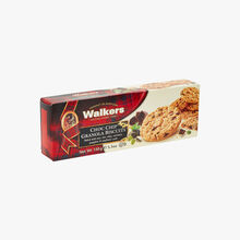 Crunchy muesli biscuits with chocolate chips Walkers