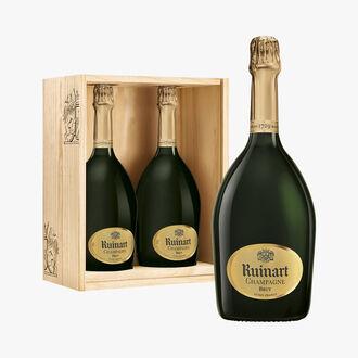 "Coffret Duo Champagne ""R"" de Ruinart Brut Ruinart"