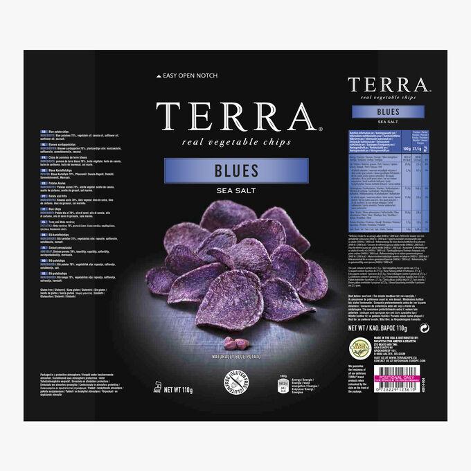 Blue potato crisps Terra Chips