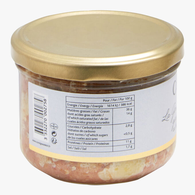 Gascony delicacy with duck liver Castaing