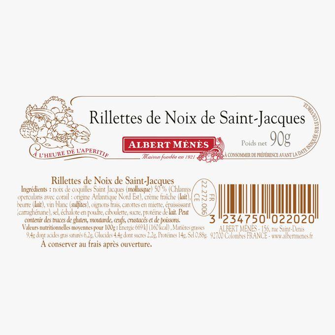 Rillette de noix de Saint-Jacques Albert Ménès