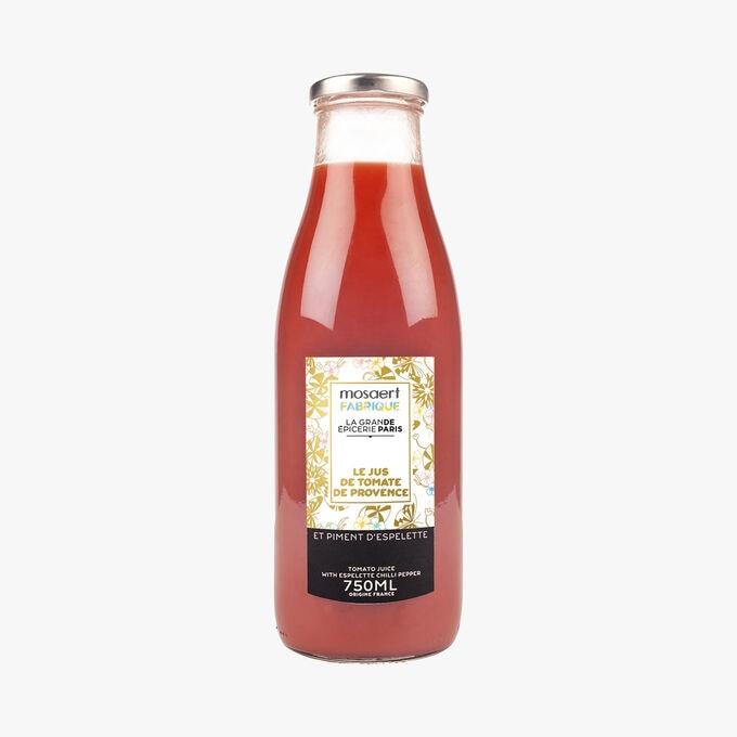 Le jus de tomate de Provence et piment d'Espelette, , hi-res