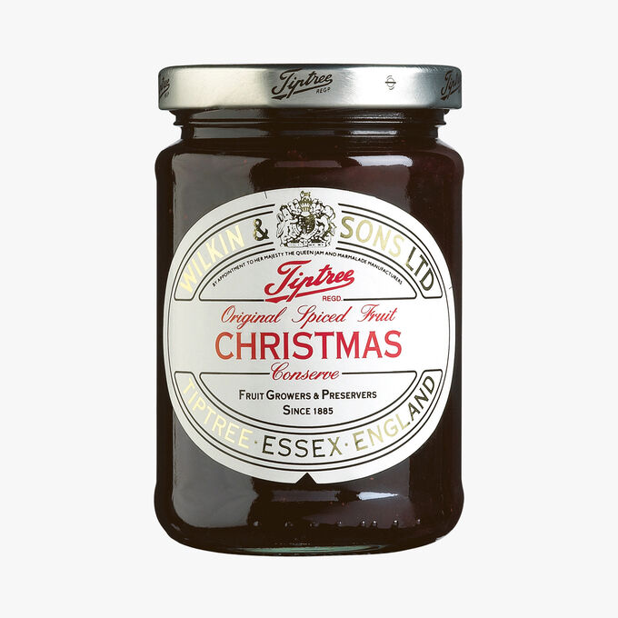 Christmas fruit and spice extra jam Wilkin & Sons
