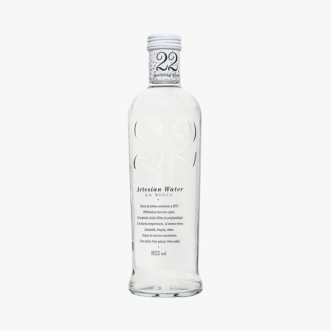 22 naturally sparkling mineral water 22