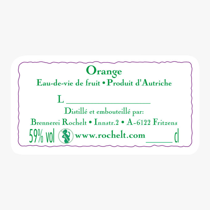 Eau-de-vie Orange 2007 Rochelt