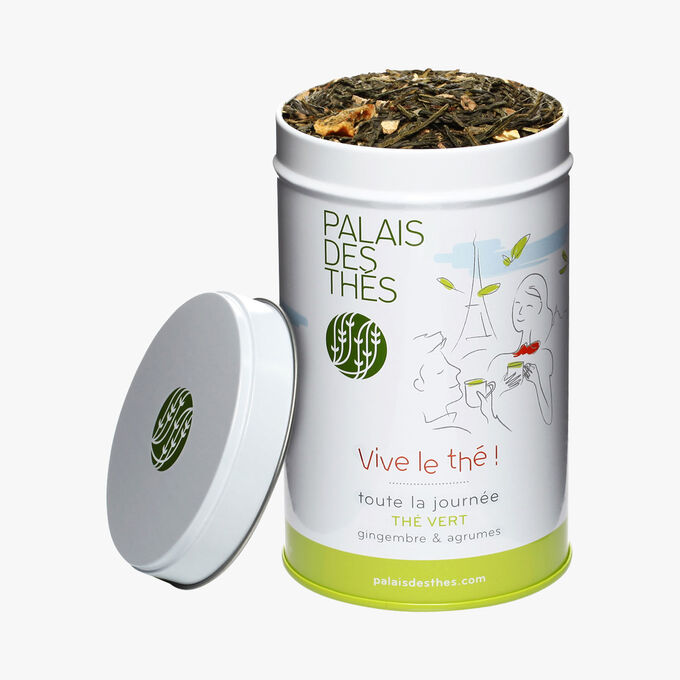 Vive le thé ! Thé vert gingembre & agrumes Palais des Thés