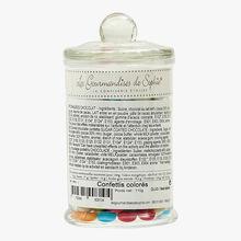 Dragées en chocolat colorés - bocal Les Gourmandises de Sophie