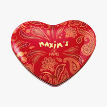 Large heart-shaped box of assorted chocolates Maxim's