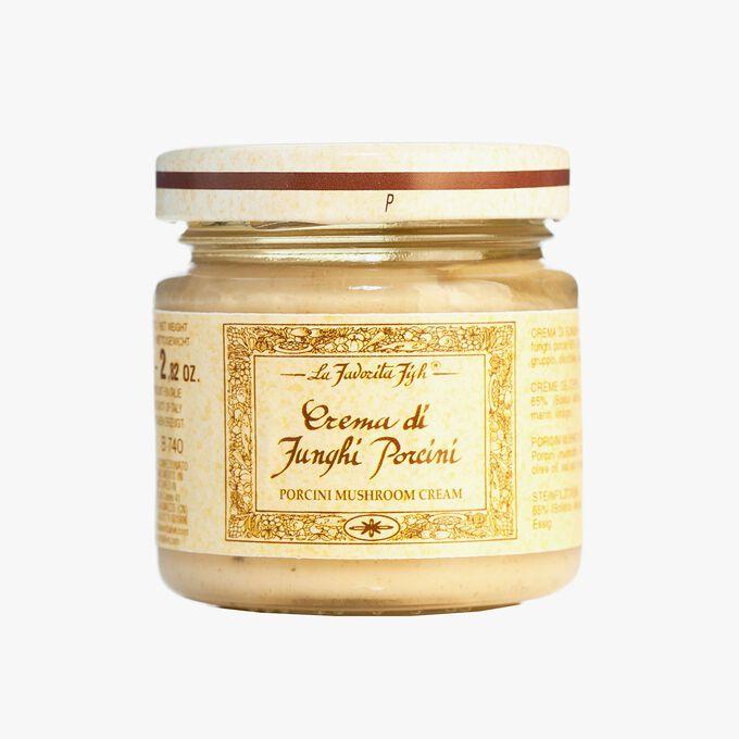 Cep mushroom cream sauce La Favorita