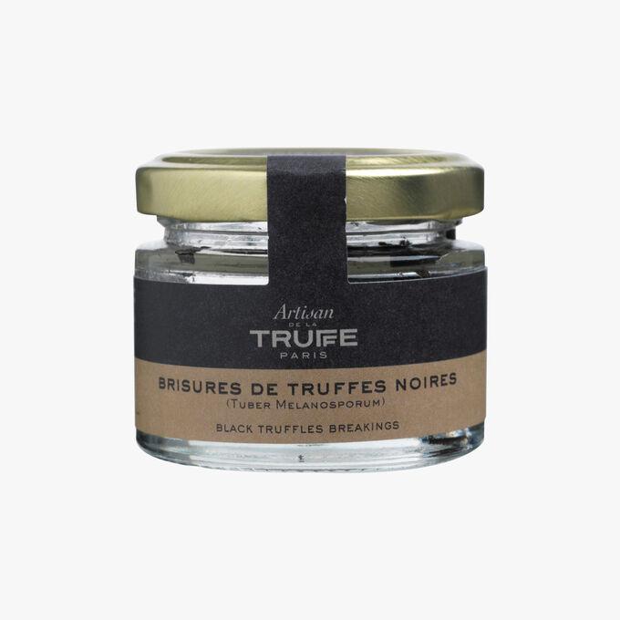 Minced black truffles  Artisan de la truffe