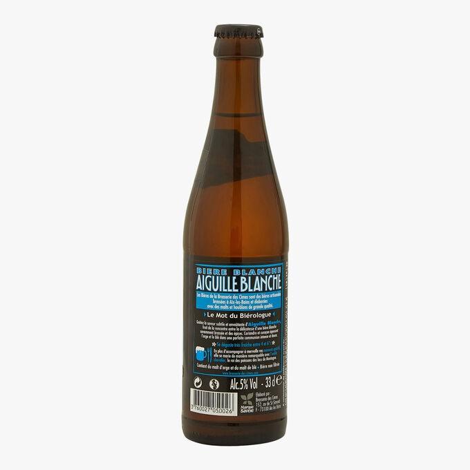 Bière blanche -  Aiguille Blanche Brasserie des Cimes