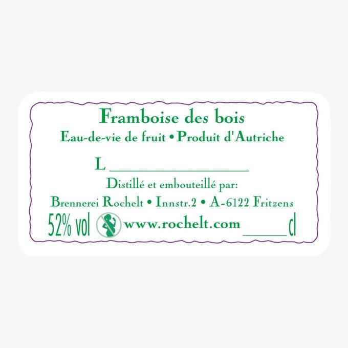 Eau-de-vie Framboise des bois Waldhimbeere 2013 Rochelt