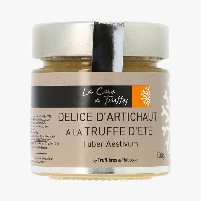 Délice d'artichaut à la truffe d´été Tuber aestivum 2,2% La Cave à Truffes