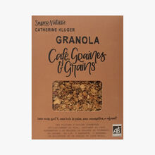 Granola with coffee, beans and seeds SuperNature Catherine Kluger