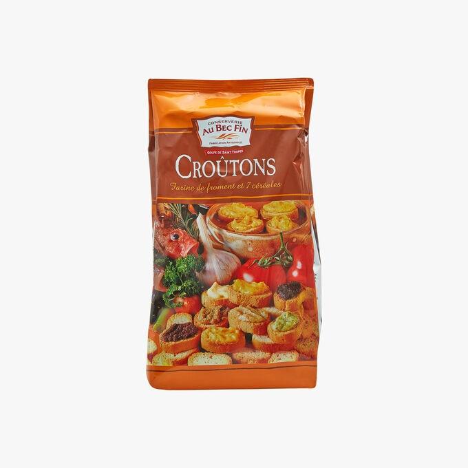 Croûtons - farine de blé et 7 céréales Au Bec Fin
