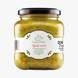 Ajvar vert - spécialité des Balkans Granny's Secret