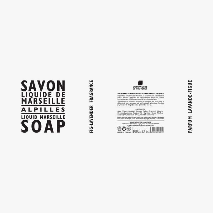 Recharge savon liquide de Marseille Alpilles Compagnie de Provence
