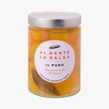 Il Puro, pomodorino giallo di Capaccio Al dente la salsa