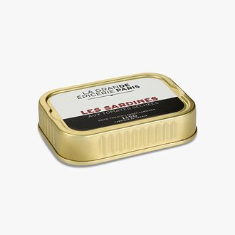 Sardines in extra virgin olive oil with sundried tomatoes La Grande Épicerie de Paris